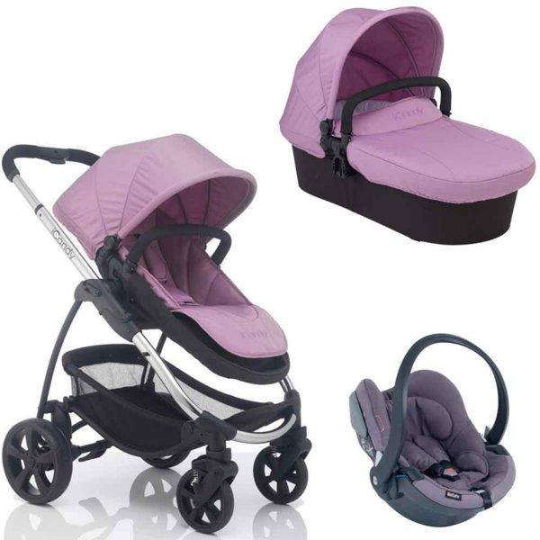 Бебешка количка 3в1 Strawberry 2